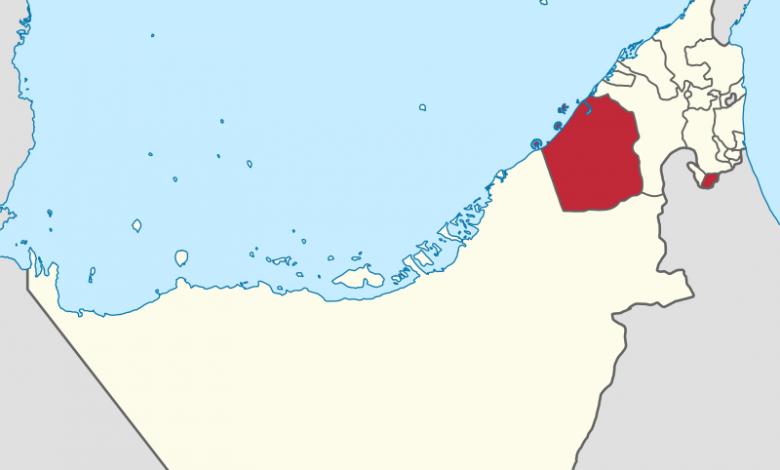 خريطه دبي